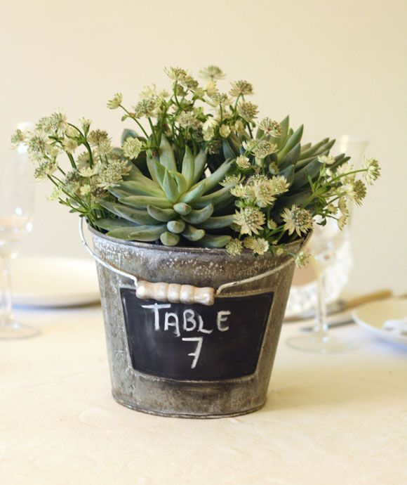 Best 25 Bucket Centerpiece Ideas On Pinterest Bridal