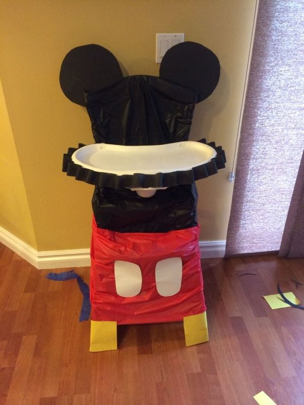diy mickey mouse birthday party decorations Guu Blogger