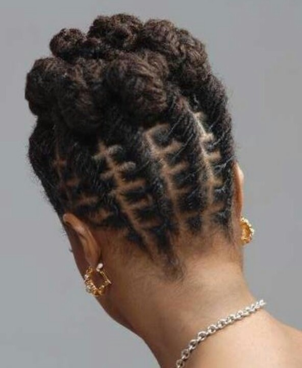 Awesome Updo  Beautiful Locs Dreads Pinterest