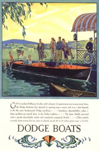 Speed Boats Art Deco Posters And Dodge On Pinterest
