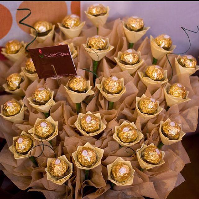 Ferrero Rocher Bouquet Birthday Stuff Pinterest