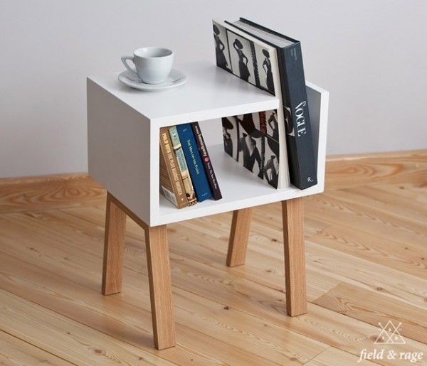 Image result for book case side table
