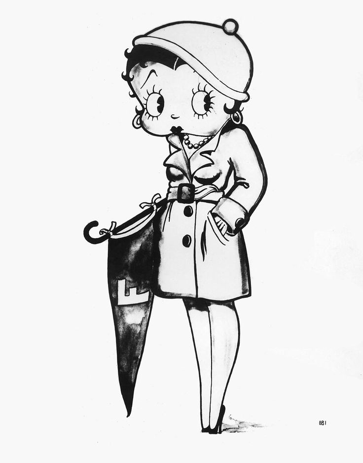 21 best images about betty boop coloring pins only on