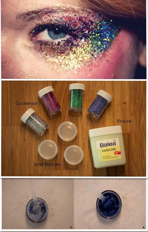 DIY-Glitter-Make-Up