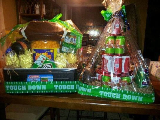 Ice Chest Raffle Basket Idea Make A Difference