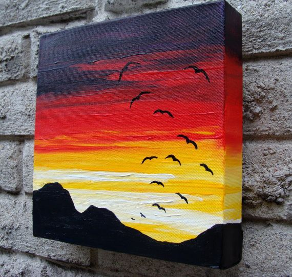 Image Result For Acrylic Art Ideas For Beginners