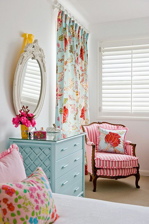 Kid's bedroom - stunning #FortheHome #French #Provincial Lots of COLOR: