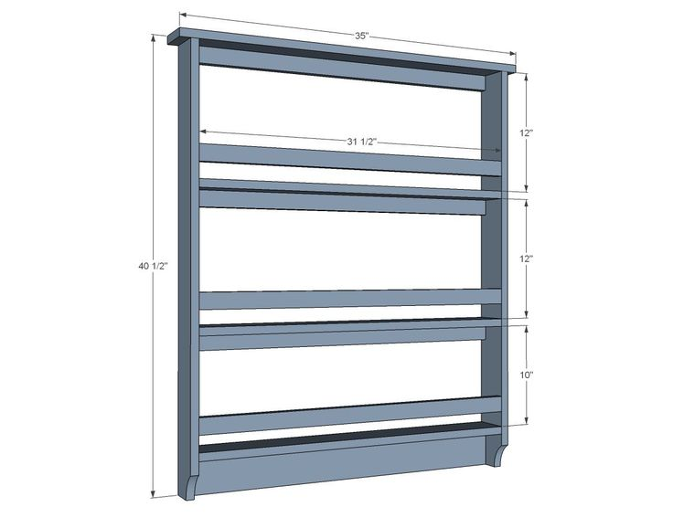Plate Rack Plans Free WoodWorking Projects Amp Plans