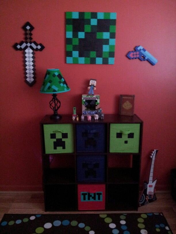 17 Best Images About Minecraft Boy S Bedroom Ideas On