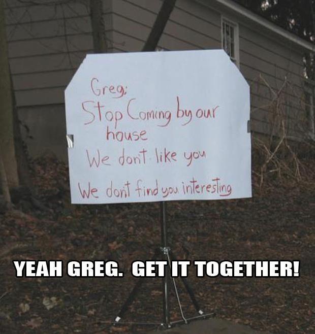 Wtf Greg
