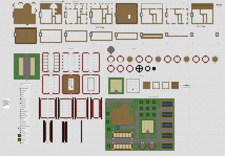17+ Images About Minecraft Blueprints On Pinterest