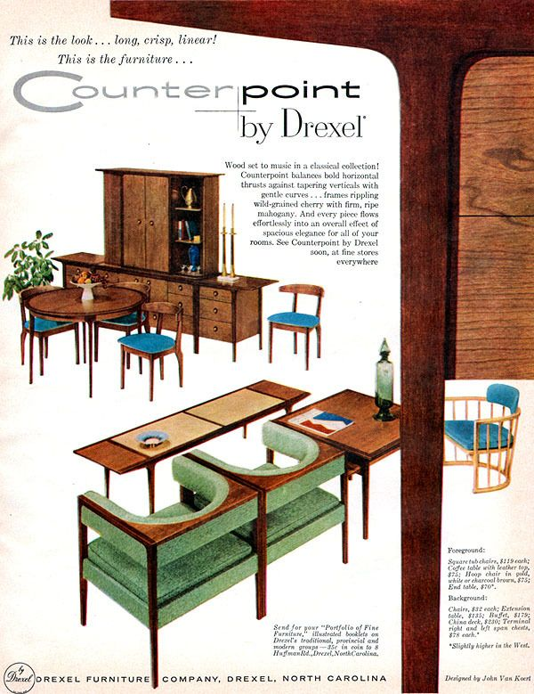 Counterpoint By John Van Koert DREXEL FURNITURE Mid