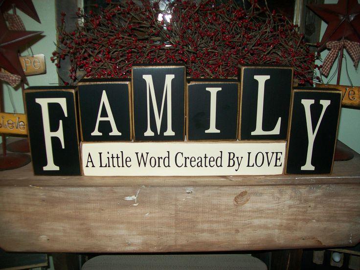25+ Best Ideas About Wooden Block Letters On Pinterest