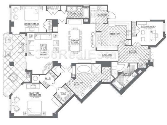 1000+ Images About Home--Floorplans: Condos On Pinterest