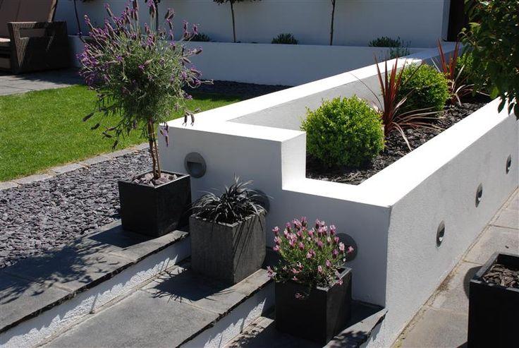 37 best images about 2-levels backyard on Pinterest ... on Split Garden Ideas id=89559