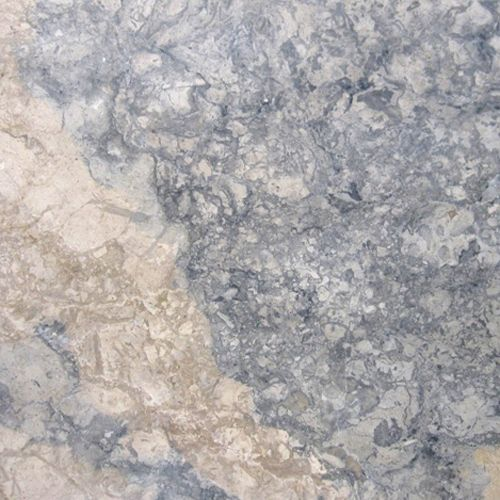 White Kitchen White Floor Tiles