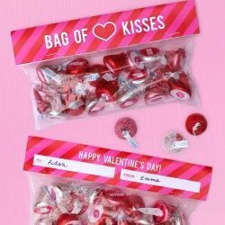 Bag of kisses Valentine
