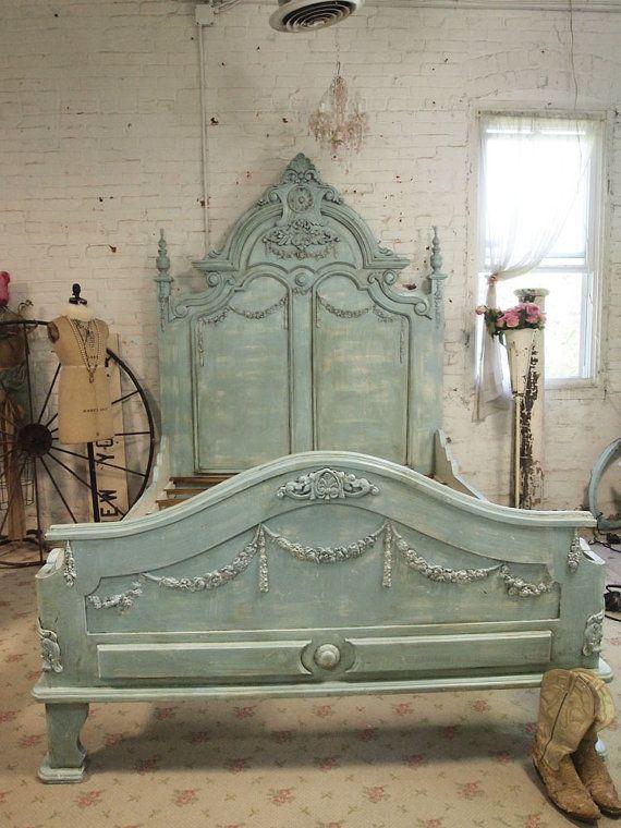 Painted Cottage Shabby  French Aqua  Romantic Idea