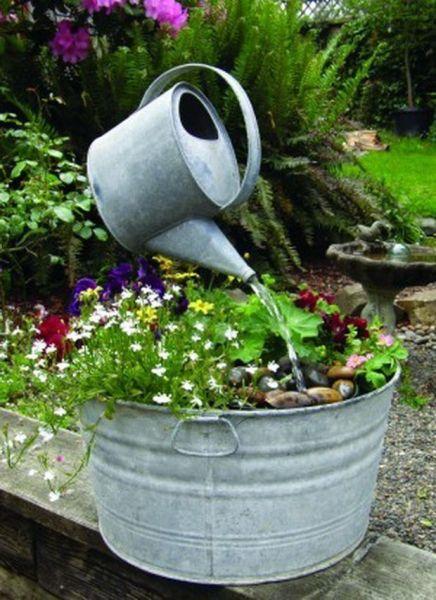 diy garden fountain ideas 25+ best ideas about Garden Fountains on Pinterest | Diy
