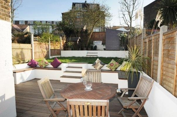 split level city garden | Ideas for our garden ... on Split Garden Ideas id=78829