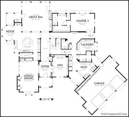 Huge Mud Room And Laundry 2 Master Suites Dream House Planshouse Floor