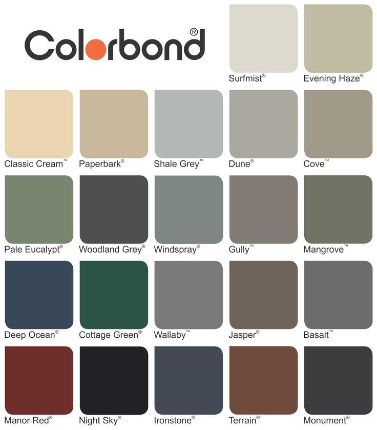 Colorbond Colours Google Search Exterior Designs