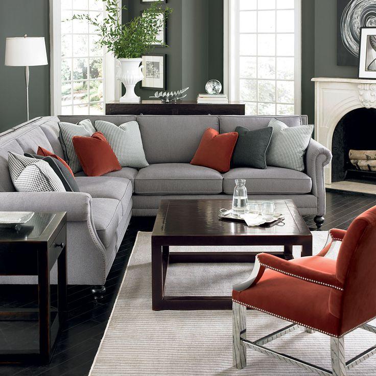Pinterest Nadinevoikos Bernhardt Living Room In Grey
