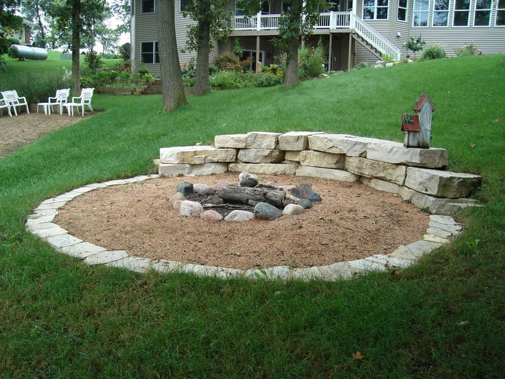 Great Backyard Landscaping Ideas With Fire Pit | Mystical ... on Garden Ideas With Fire Pit id=59584