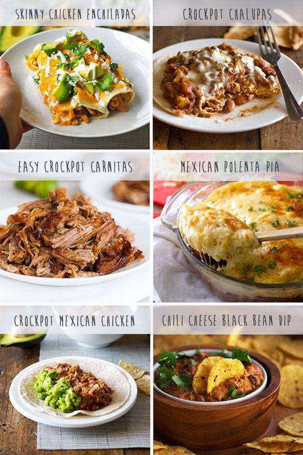 Favorite Mexican Crockpot Recipes – LOVE Mexican food, love Crockpot…..love