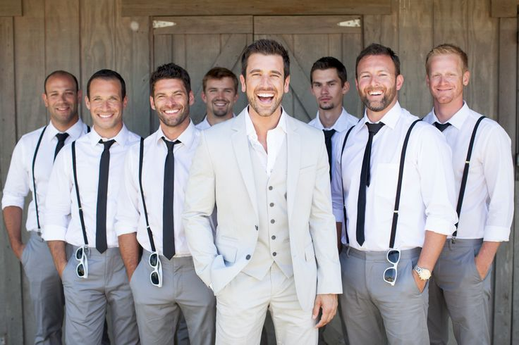 10 Ways to Style Your Groom (and his men) Vintage – Suspenders