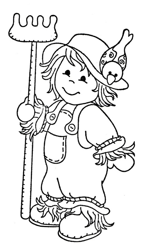 89 best images about scarecrows on pinterest  coloring