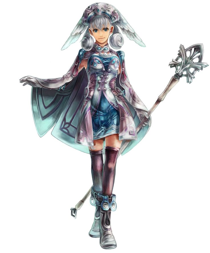 Xenoblade Melia Antiqua By Someone Nobody Seems To