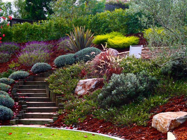 32 best images about Steep slope ideas on Pinterest on Steep Hill Backyard Ideas id=92401