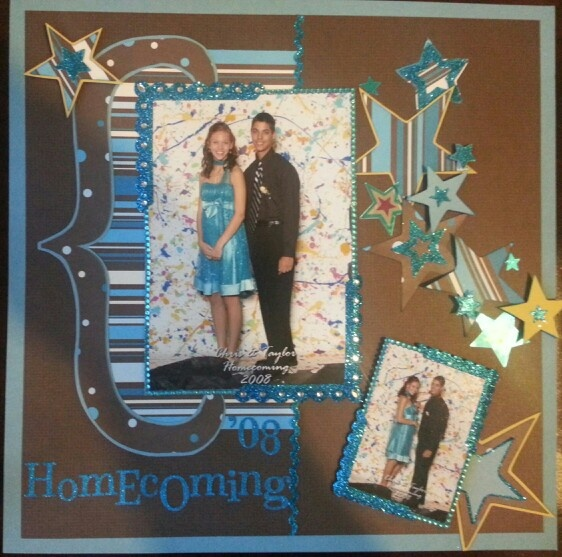 1000 Images About Scrapbooking Homecoming On Pinterest