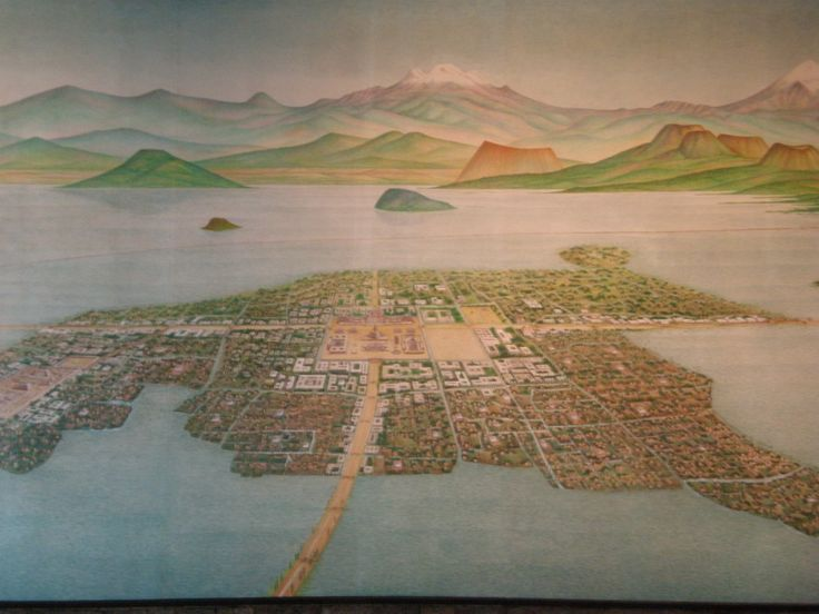 Tenochtitl 225 N History Of Aztec Capital Lakes The O Jays