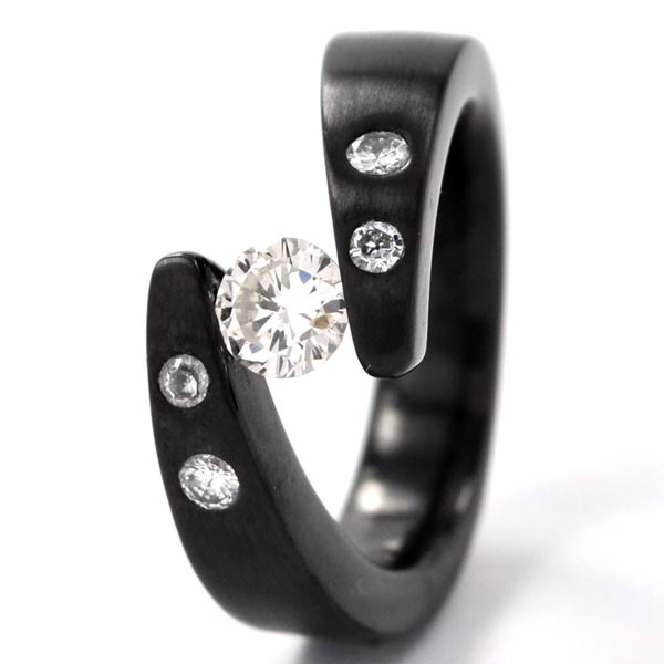 New Fashion Wedding Ring Non Metal Wedding Rings