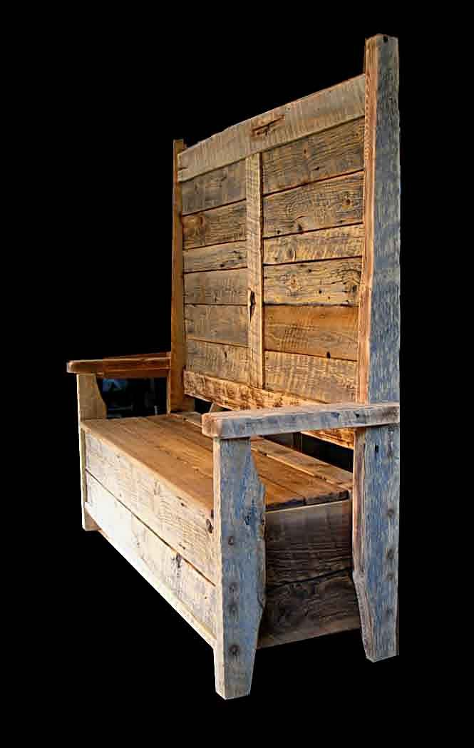 Bench Seat With Storage And Coat Rack Woodworking