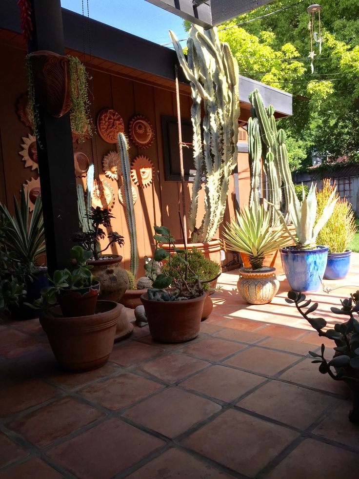10+ images about Mexican patio on Pinterest | San miguel ... on Mexican Patio Ideas  id=13165