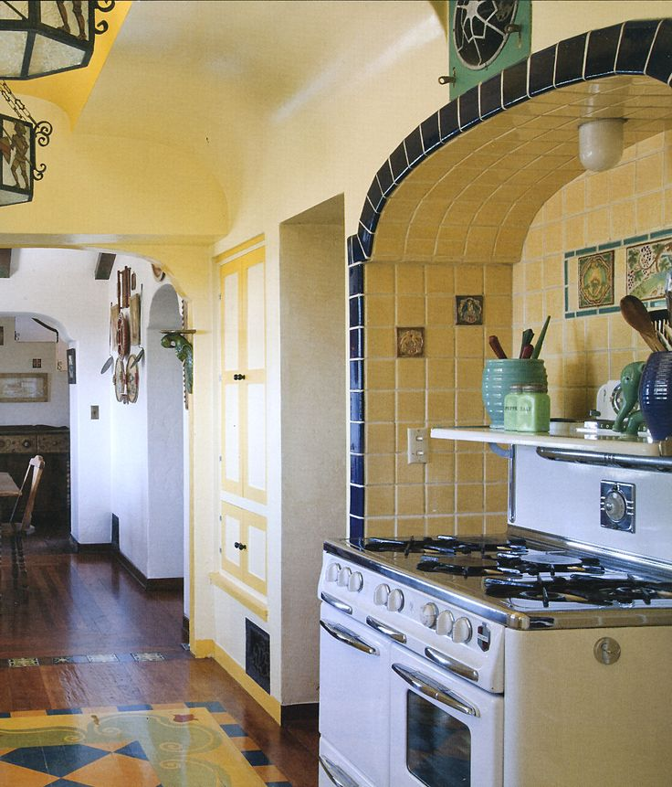 218 Best Images About Spanish Revival Kitchens On Pinterest Spanish Spanish Haciendas And