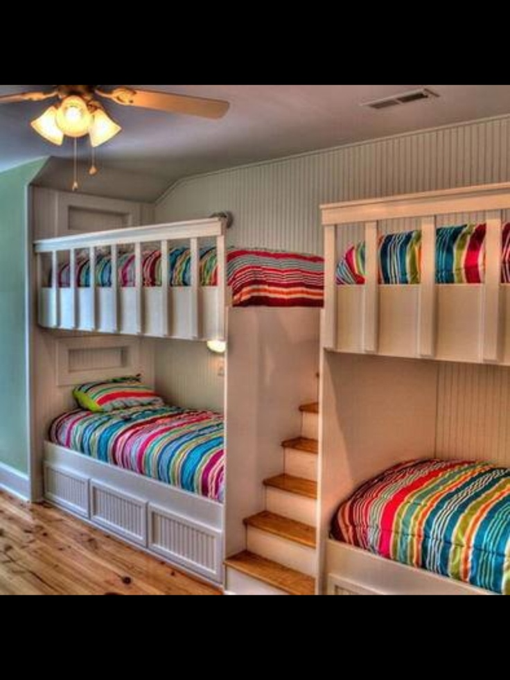 17 best images about summer home bedrooms kids bedrooms on on wonderful ideas of bunk beds for your kids bedroom id=84721