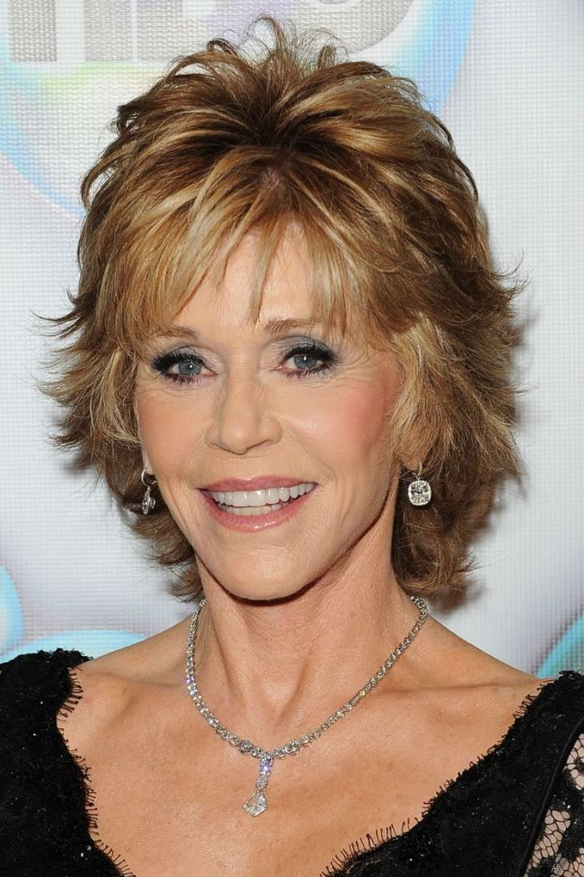 new best hair: jane fonda hairstyles photos