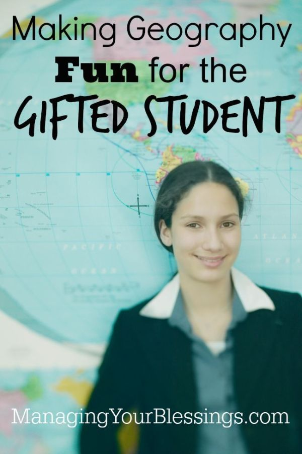 Making Geography Fun for the Gifted Student :: Do you have ...