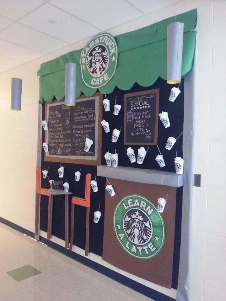 Learning A Latte Mrs Eikel S Classroom Bulletin Board