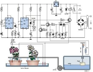 Free Electronic Circuits Project Diagram and Schematics