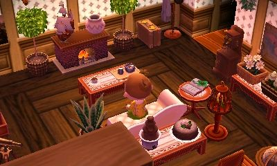 lionellecrossing: Working on my interior at 2am despite ... on Animal Crossing New Horizons Living Room  id=57387