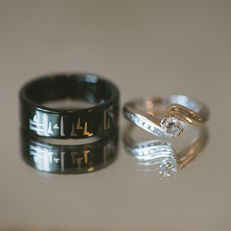 Skyrim Inspired Wedding Band Now And Forever In Dovah