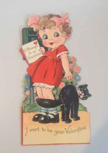 17 Best Images About Vintage Valentine Cards Mail On