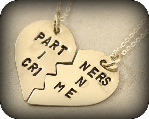 Partners in Crime Necklaces, $25 | 24 Matching Jewelry Pieces For You And The One You Love