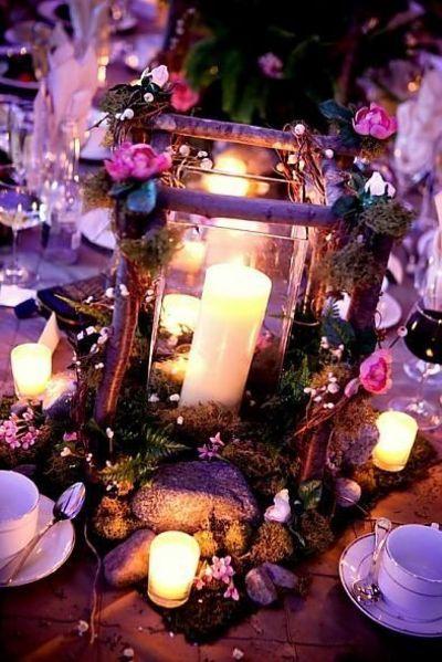 mid summer nights dream wedding | Midsummer Nights Dream Centerpieces / wedding