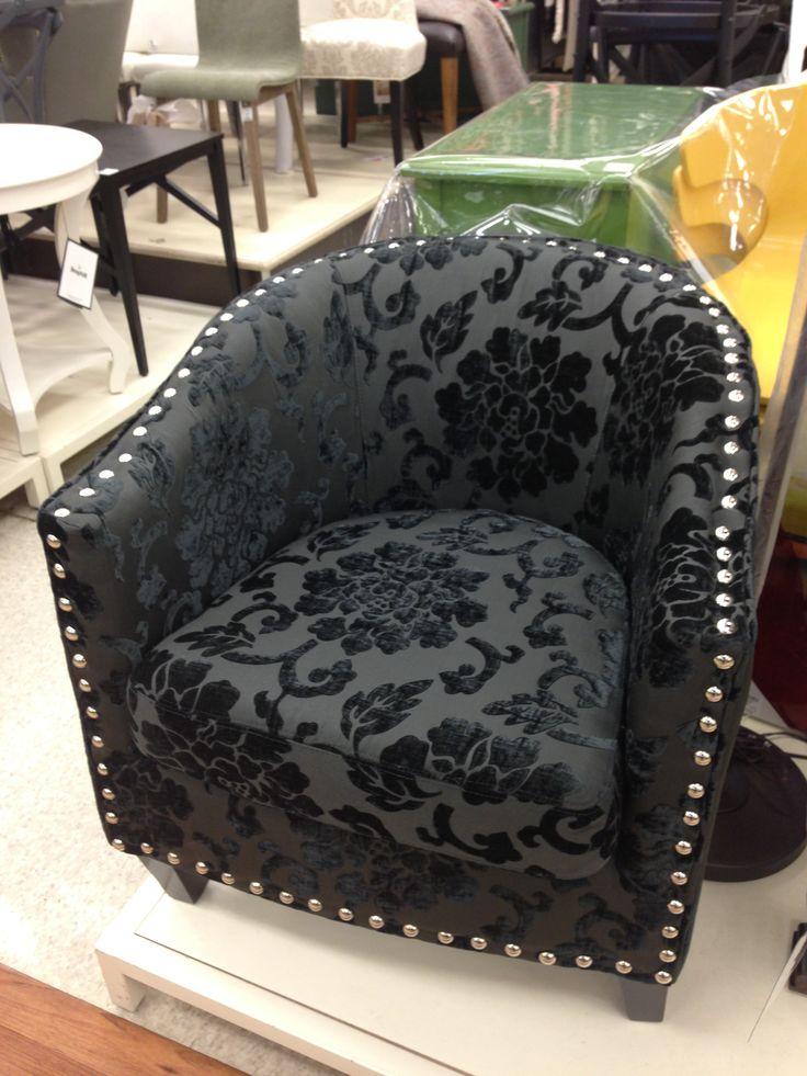 Black damask chair homesense canada decor ৯ home